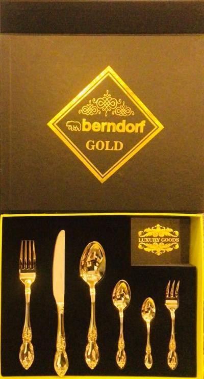 Bộ Berndodf mạ vàng 24k