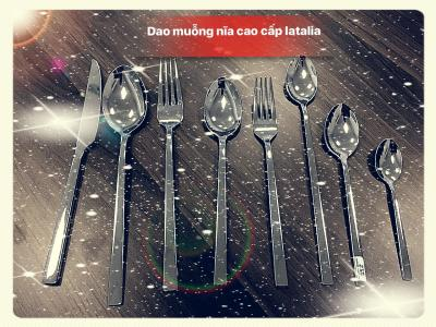 Bộ dao muỗng nĩa Alessi V09
