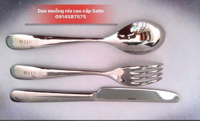 Bộ dao muỗng nĩa salla V10