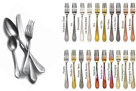 Mẫu dao muỗng nĩa Mepra V14